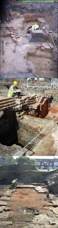 Recent excavations in Birmingham, Belmont Row, Brassworks, Saltley brick kiln, © Copyright Birmingham Archaeology